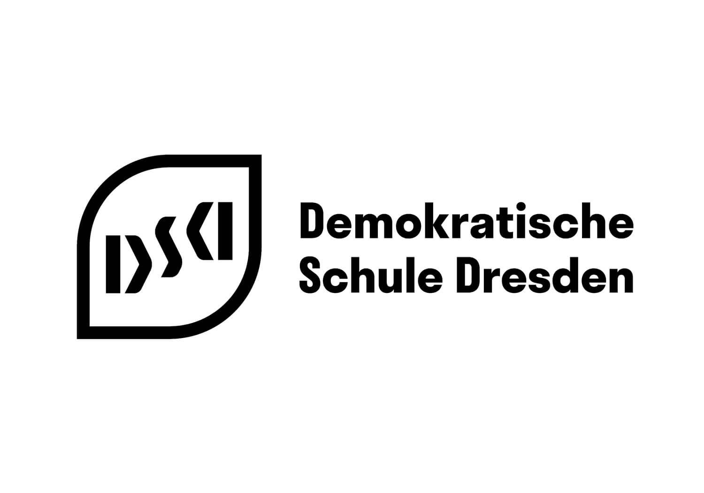 Logo mit Schriftzug der Demokratischen Schule Dresden