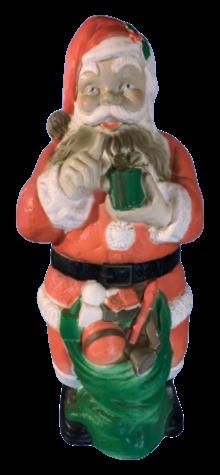 Giant Illuminated Santa Claus photo