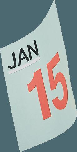 calendar page illustration