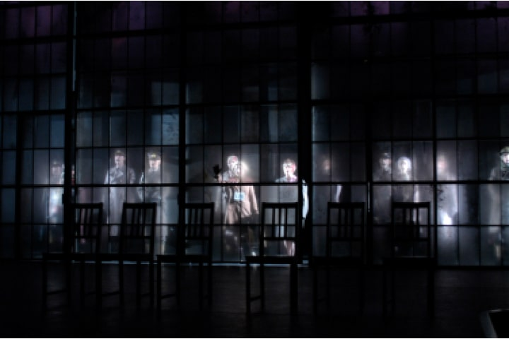 """Robert Thomson's lighting design for the production of """"Macbeth"""" at the National Arts Centre and Citadel Theatre"""