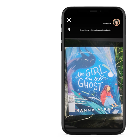 Borrow both ebooks and physical books with the in-app camera