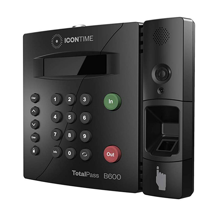 TotalPass B600 Fingerprint Time Clock