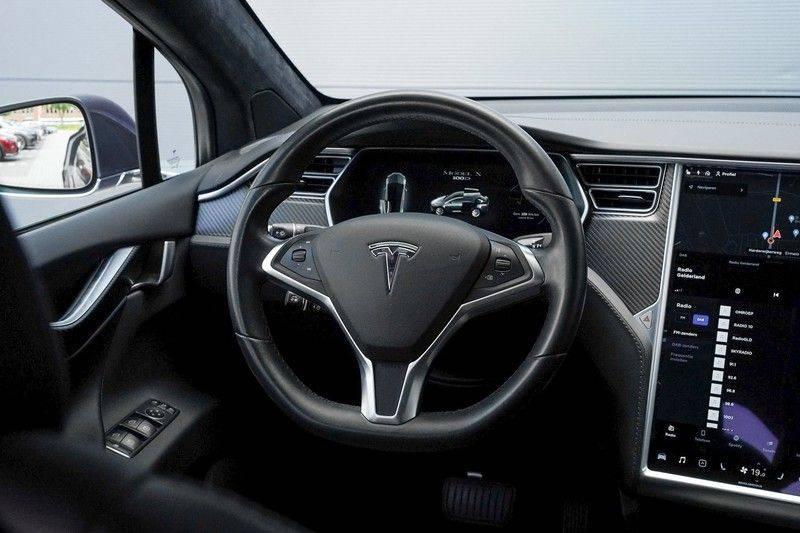 """Tesla Model X 100D Excl. BTW Luchtvering, Autopilot Leer 4% bijt. 22"""" afbeelding 17"""