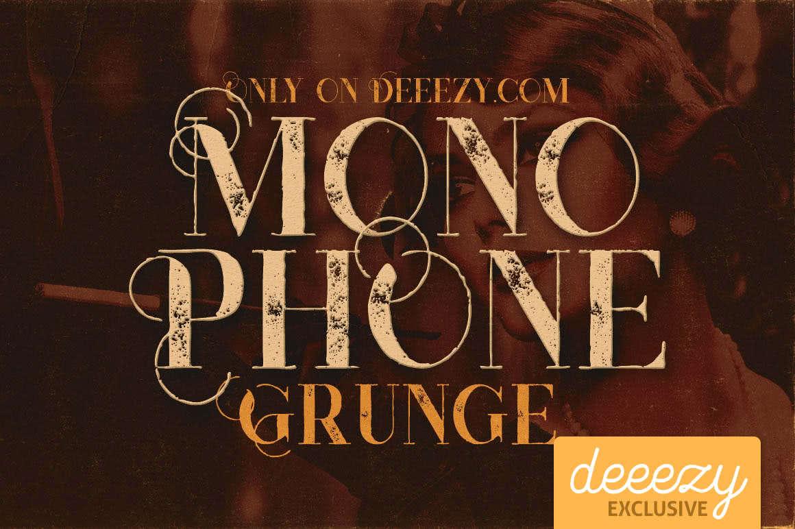 fonte de graca monophone