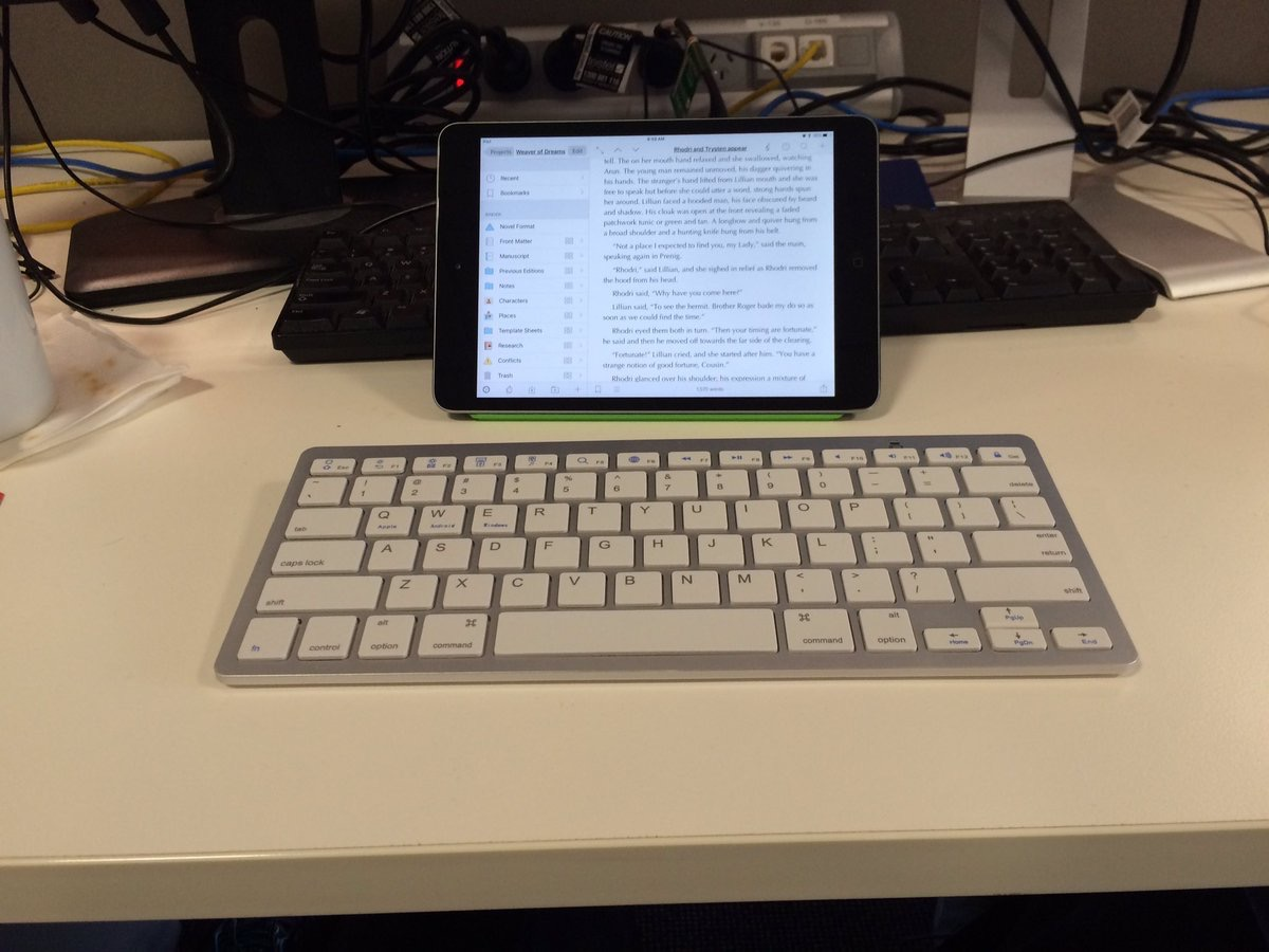iPad mini mobil writing studio