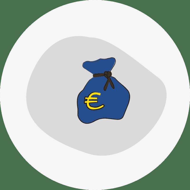 Bild eines Geldsacks