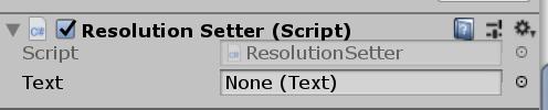 Resolution Setter Script