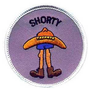 Shorty spejdermærke