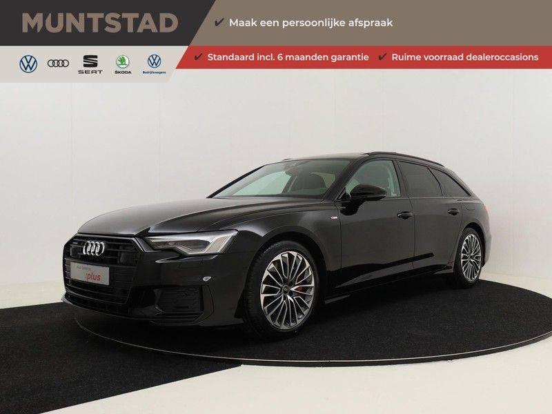 Audi A6 Avant 55 TFSI e 367 pk quattro Competition | Panoramadak | Assistentiepakket Tour | Keyless Entry | Optiekpakket | Trekhaak | Verlengde Fabrieksgarantie afbeelding 1