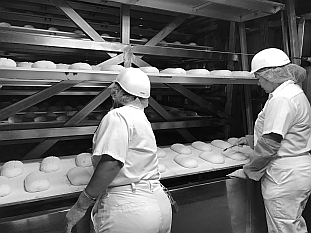 bakers inspecting