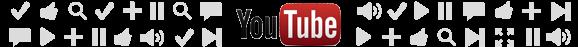 YouTube strike logo