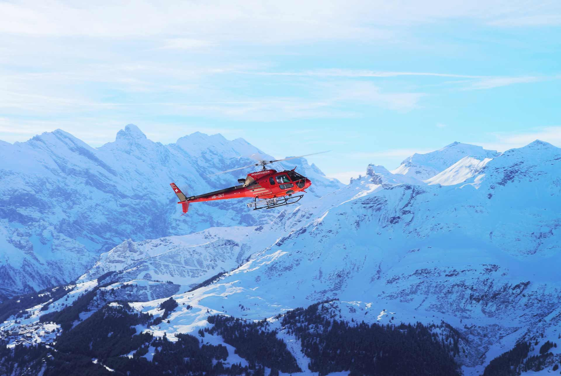 Swiss Alps Helicopter Ride