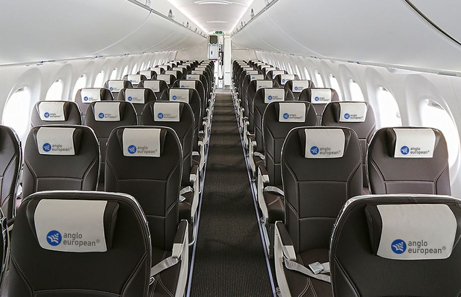 Branded cabin seating