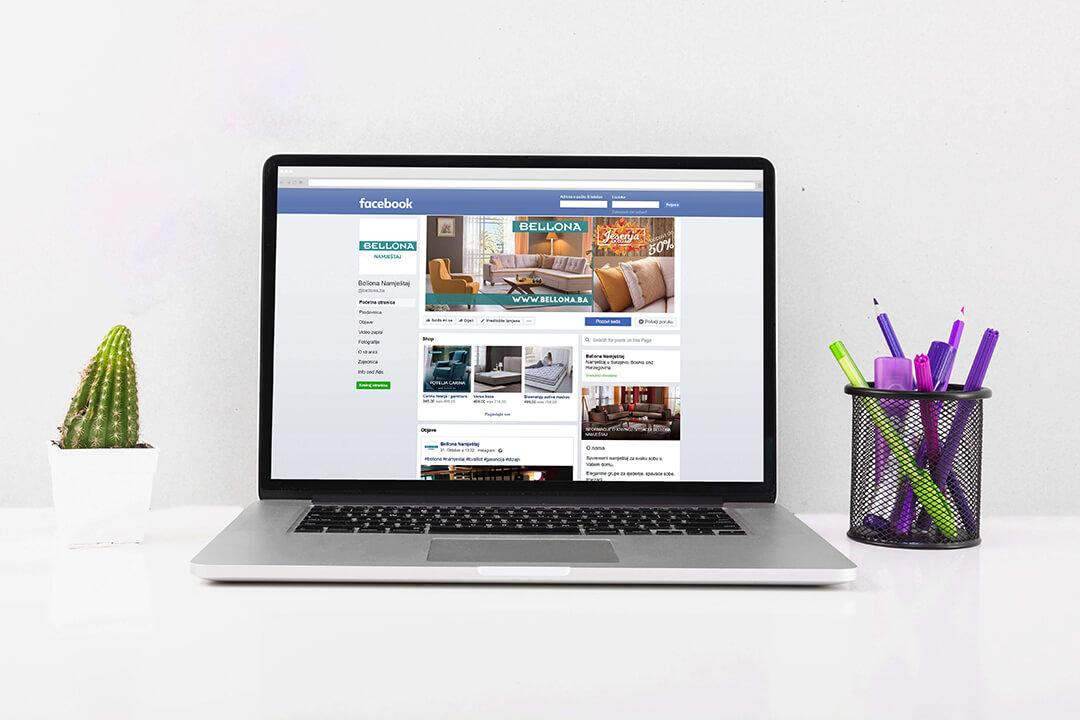 Project Bellona Furniture, Digital Marketing, Facebook Campaign, Google Adwords
