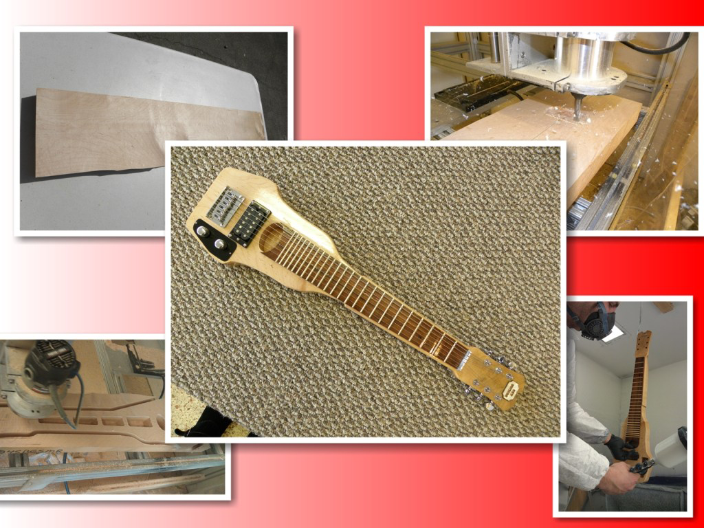 Custom lap steel