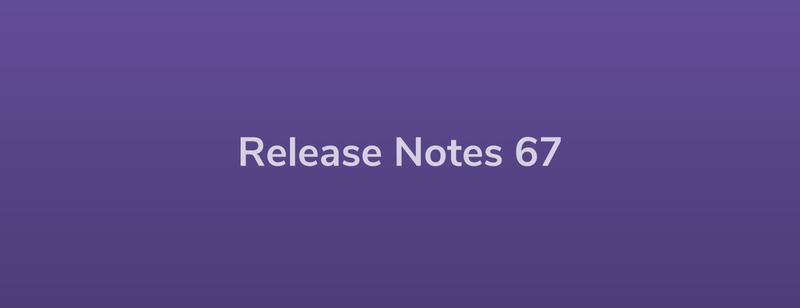 Esper Release Notes – DevRel 67