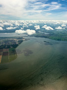 above Amsterdam-Noord, Netherlands, 2017