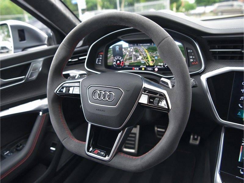 Audi RS6 4.0TFSI 600pk Quattro Keramiek Carbon B&O High-End Softcl Nachtz TV Laser Standk VOL!! afbeelding 23