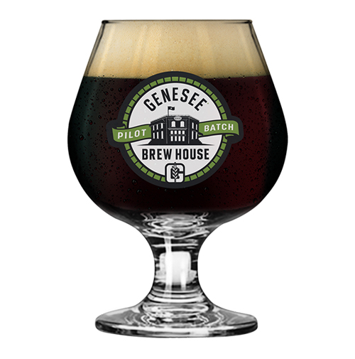 Genesee Bourbon Barrel Aged Imperial Black IPA can