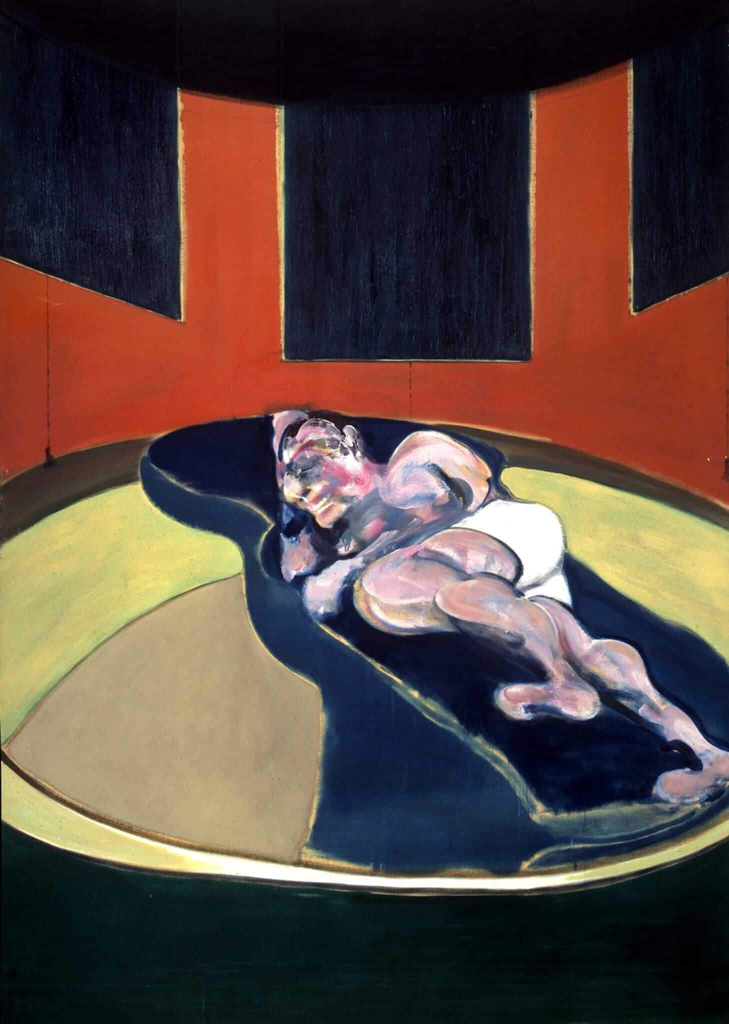 Фрэнсис Бэкон. Лежащая фигура. 1961. Источник: francis-bacon.com