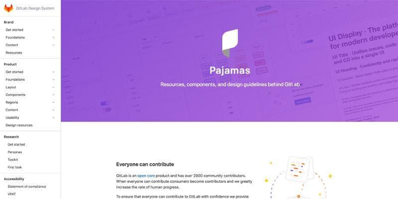 Pajamas - Gitlab Design System