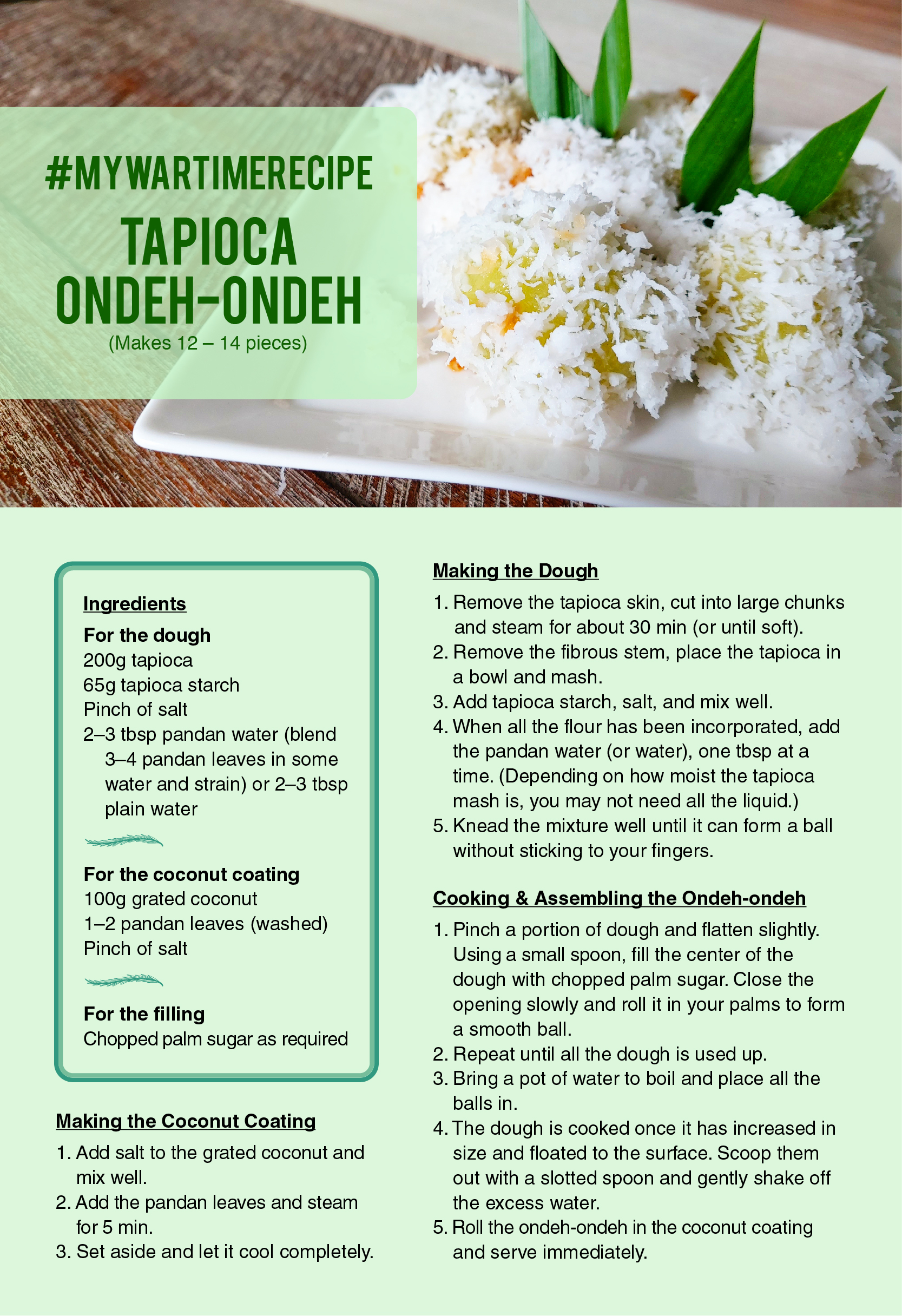 ondeh ondeh recipe
