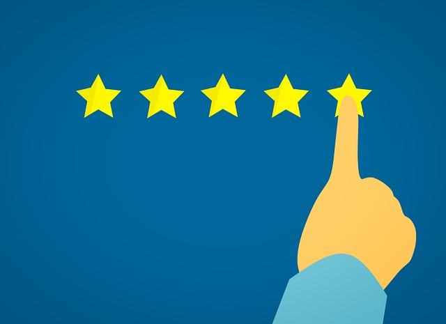 5 stars customer experience