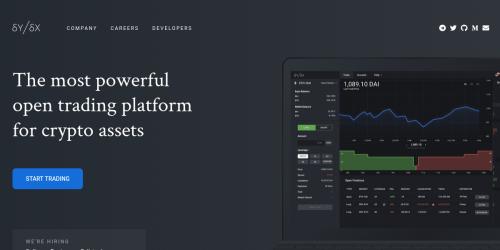 blockchain trading platform open source)