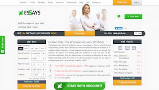 x-essays.com main page