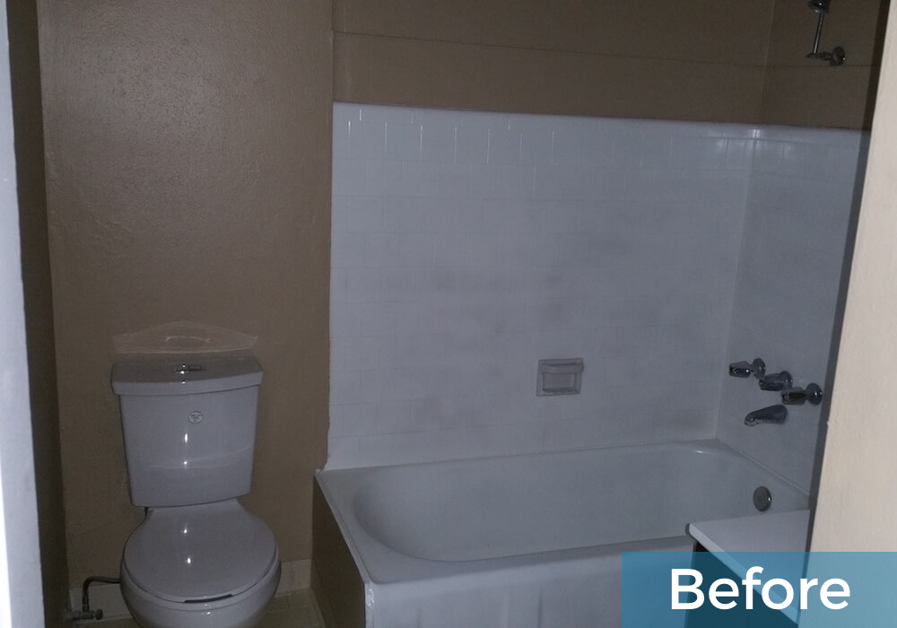 before image of wise bathroom