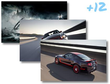 Ford Mustang Classic theme pack