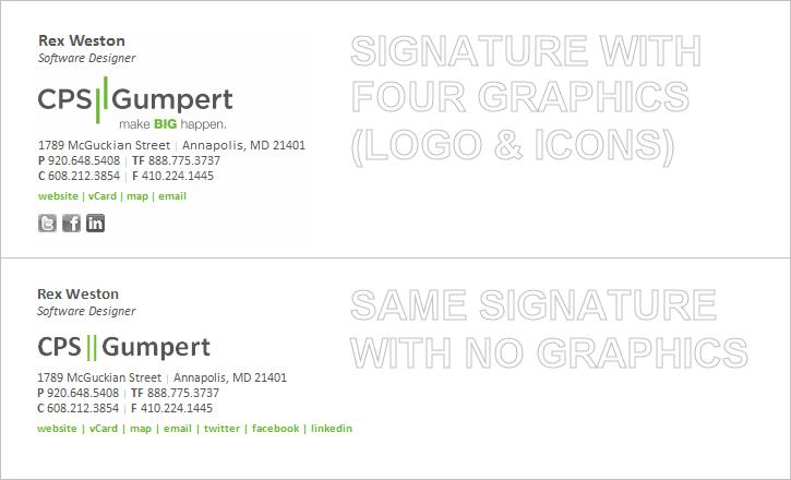 Email Signature - No Graphics - 2