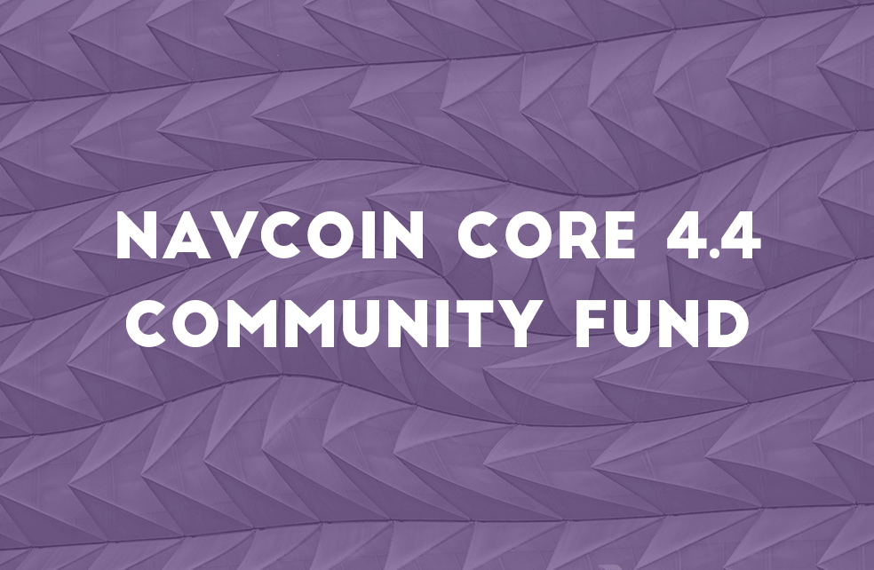 Community Fund Release