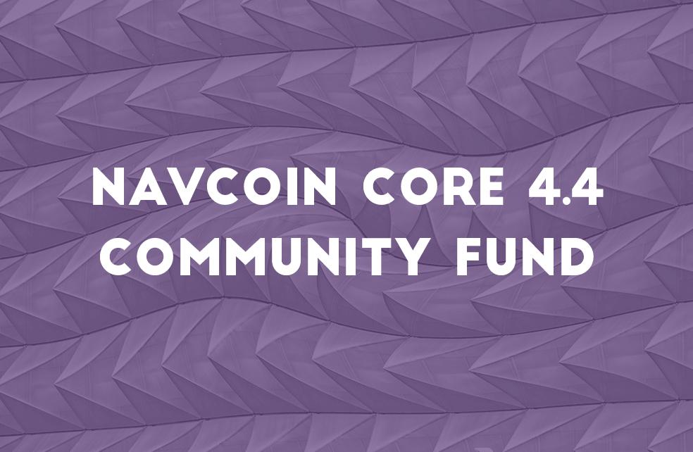 Community Fund Release