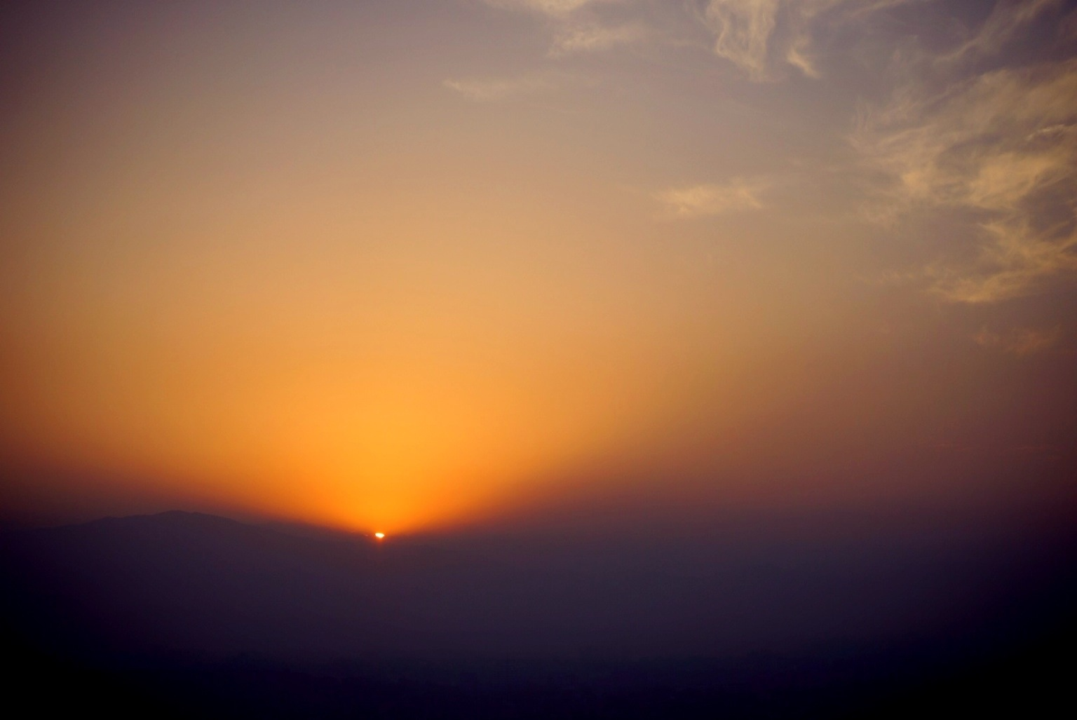 Kathmandu first light