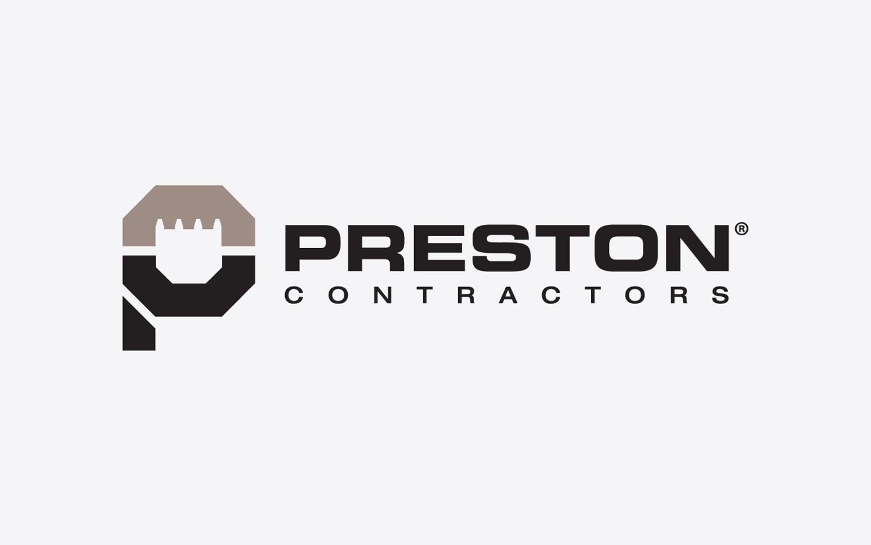 Preston Contractors Logo