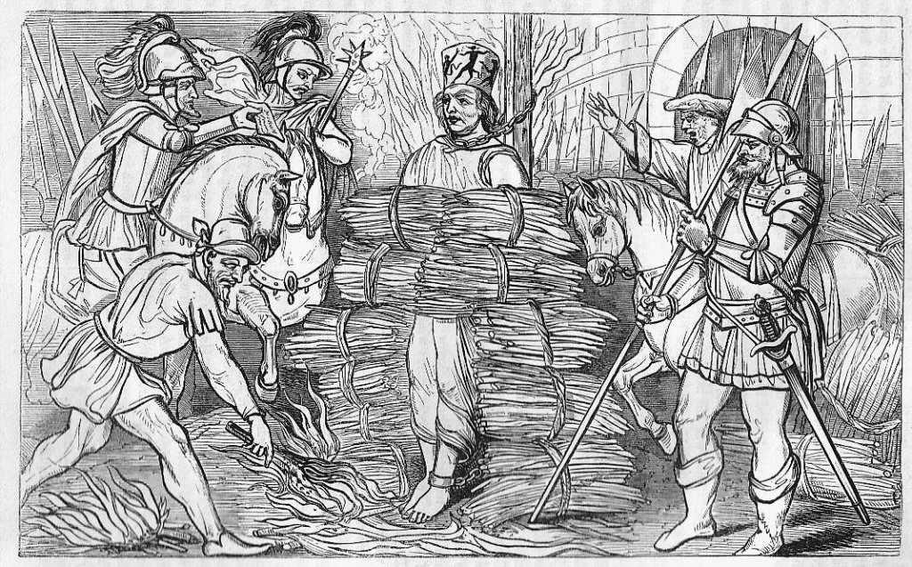 The execution of John Huss