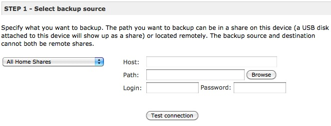 Rsync Backup Source