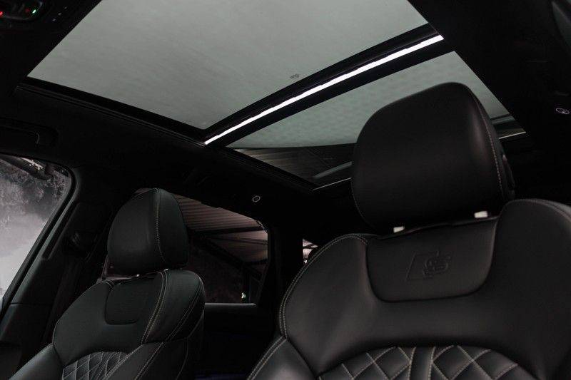 "Audi SQ7 4.0 TDI V8 Quattro 435pk 7 Pers. Panoramadak BlackOptic B&O NightVision Luchtvering ACC ValconaLeder+Memory Matrix Head-Up Navi-High Keyless Trekhaak 22"" Camera Pdc afbeelding 5"