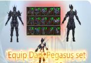 Choose Dark Pegasus Equipment +10
