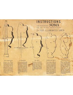 NOMA Lites (US) Illuminated Santa #33 Instruction Manual.pdf preview