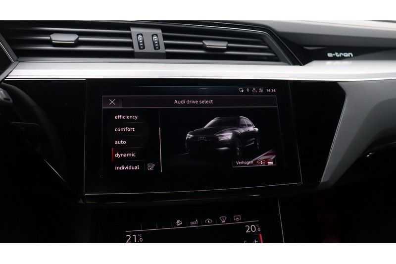 Audi e-tron 55 quattro Advanced S Line excl. BTW Panoramadak, B&O, S Sportstoelen, DAB, Head-Up Display afbeelding 19