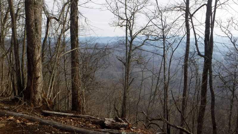 View of U.S. Highway 64