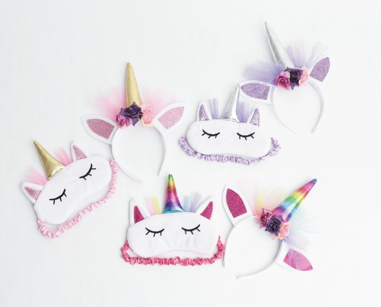 The Petting Zoo: Slumber Party Unicorn Eyemask Assortment