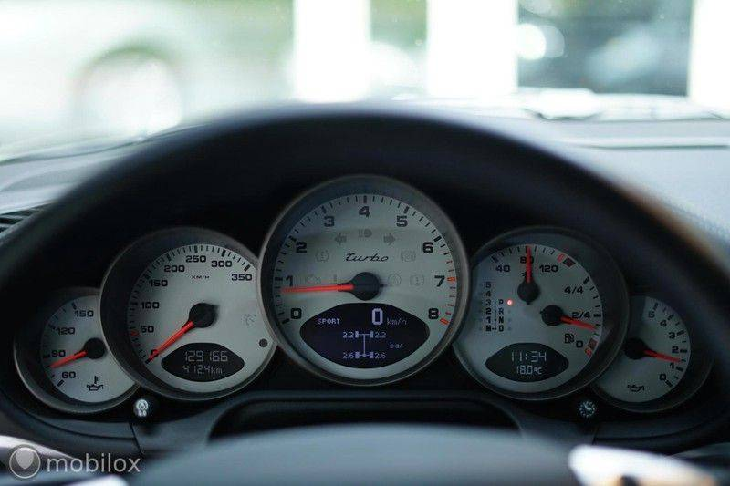 Porsche 911 997 3.6 Turbo   sport chrono afbeelding 17