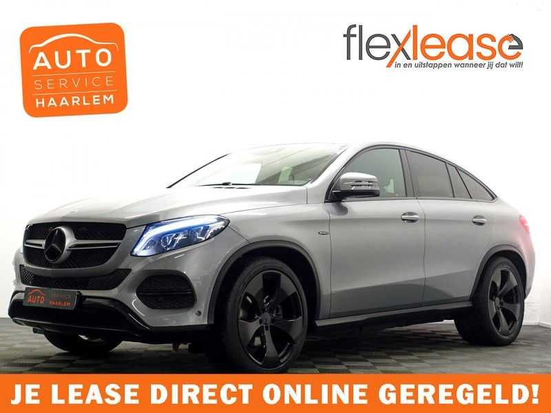 Mercedes-Benz GLE Coupé 350 d 4MATIC 259pk AMG Night Edition 9G- Leer, Navi, Camera, full afbeelding 1