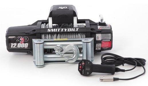 Smittybilt Gen2 X2O 12000 Waterproof Winch 97512 12000 lb winch