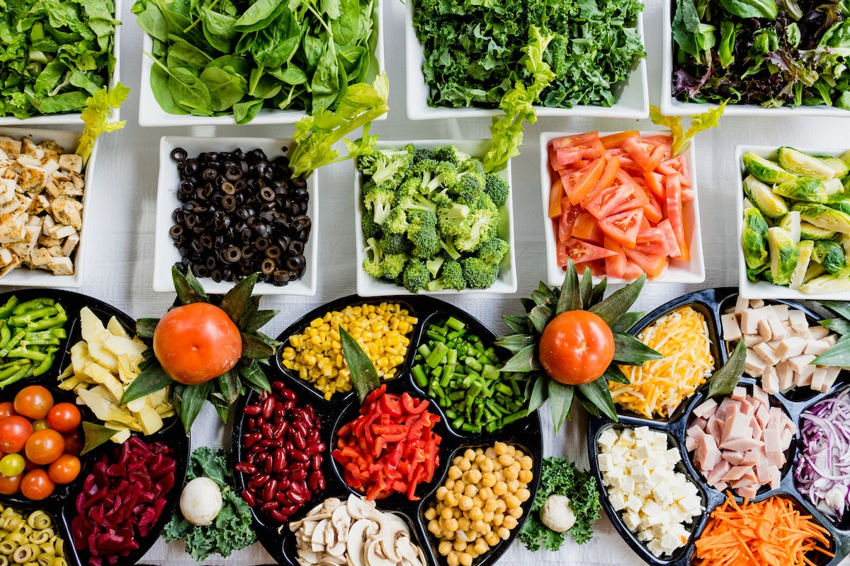 vegetales para kebab