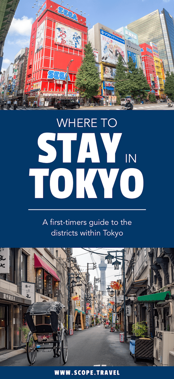 Pinterest Where to stay in Tokyo