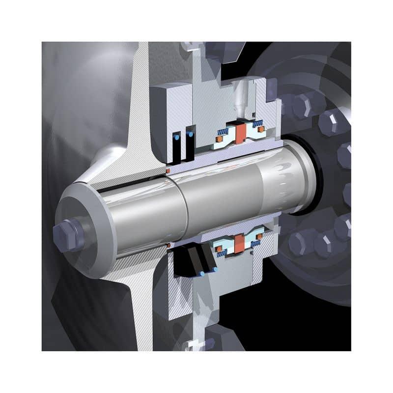 Screenshot von einem CAD Antriebsmodell